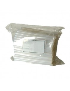Bolsa cola termofusible transparente 12x200