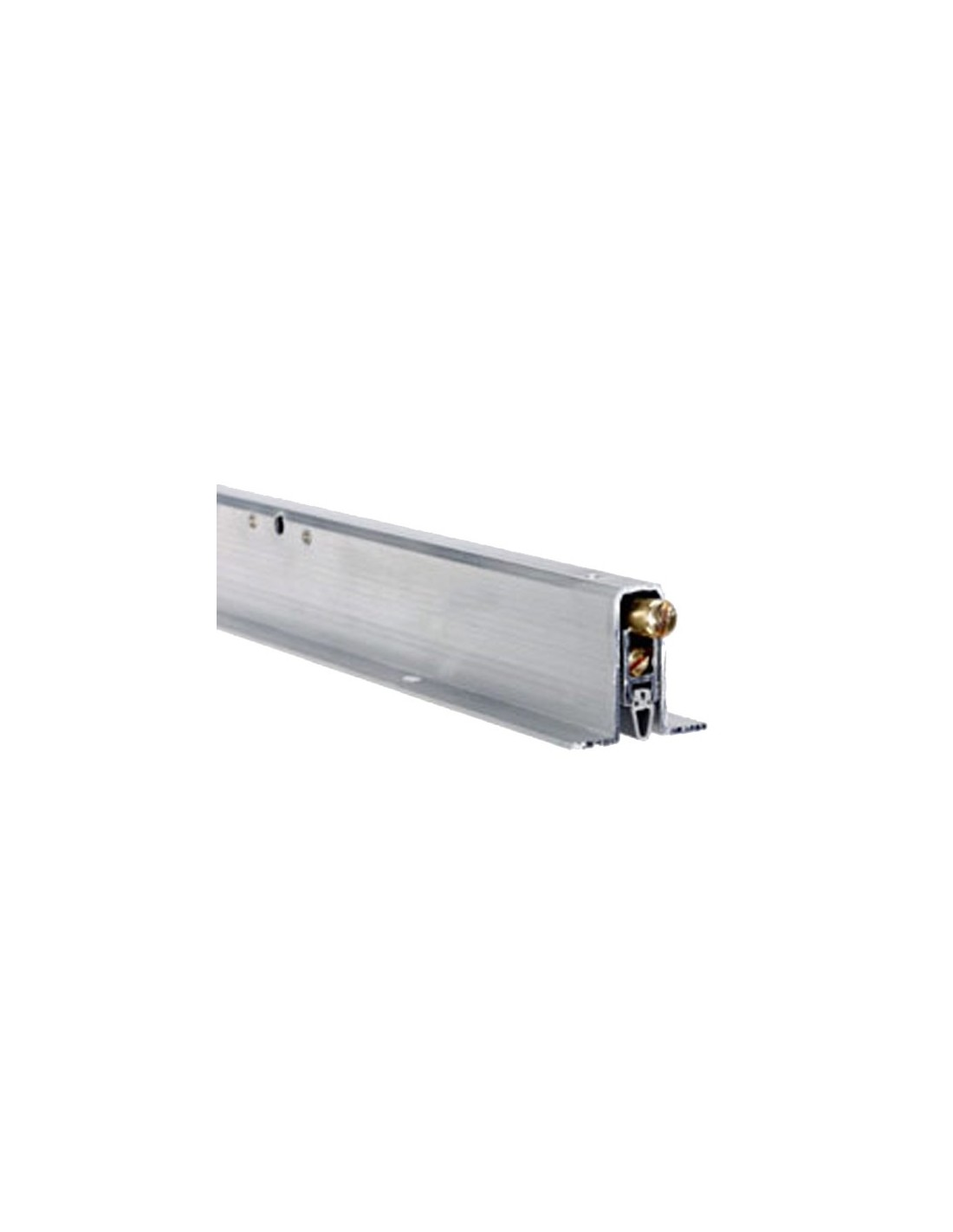 Burlete embutido 504 de 60 cm aluminio burletes para - Burlete para puertas ...
