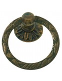Tirador anilla de latón MG99404380 envejecido manchas
