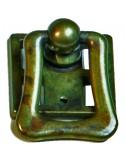 Tirador anilla con placa LG-190303980 envejecido manchas