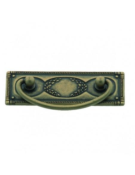 Tirador asa con placa LG-192309779 Florencia