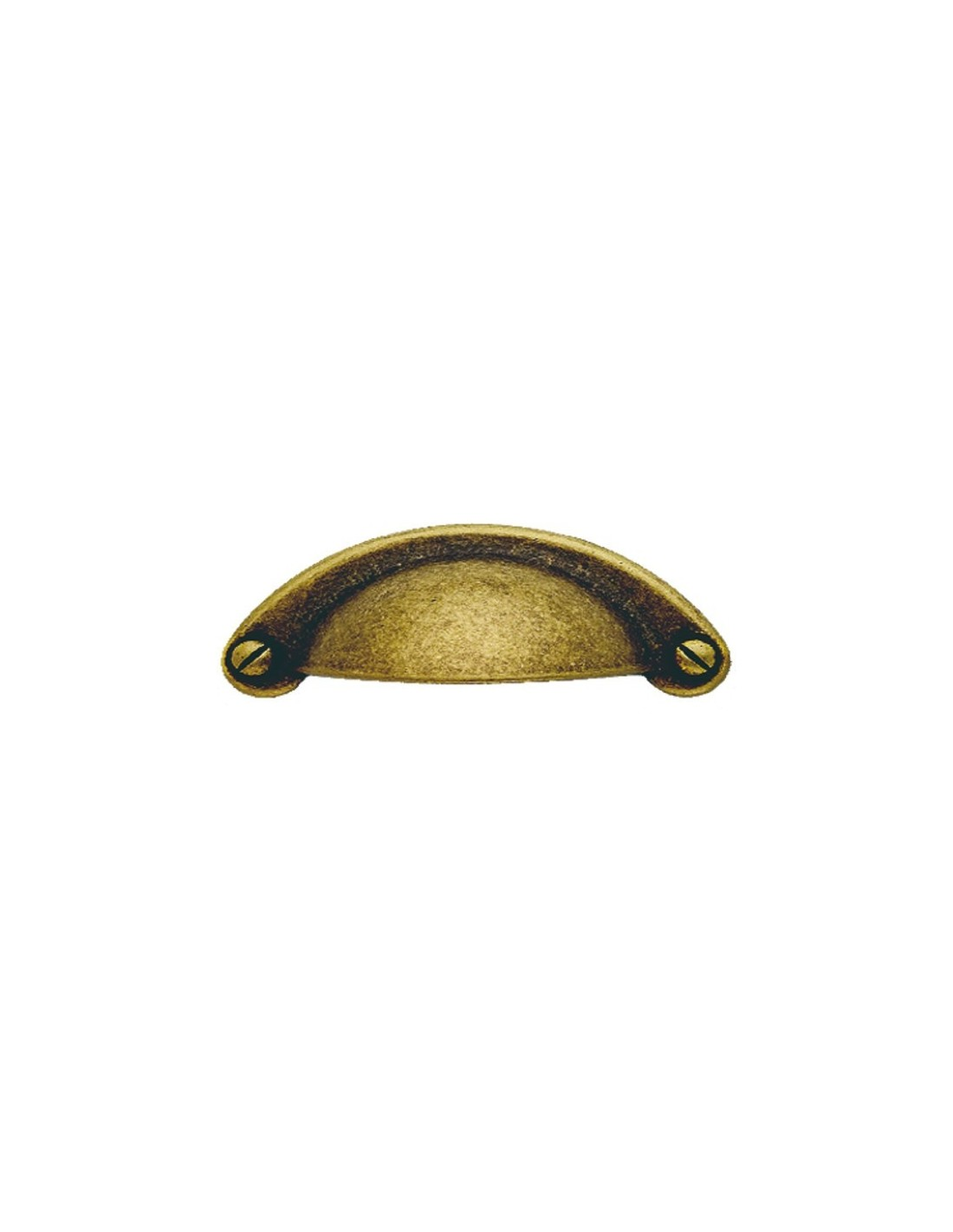 Tirador concha lg18026480 envejecido manchas pomos - Pomos y tiradores para muebles ...