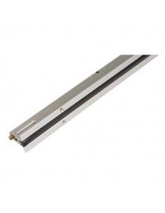 Burlete embutido 504 de 120 cm. Aluminio