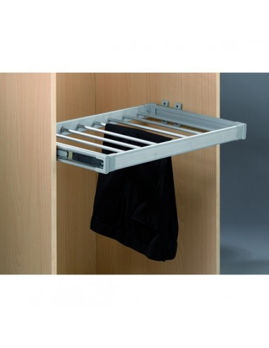 Pantalonero Aluminio Extraíble 109HP 8 Perchas