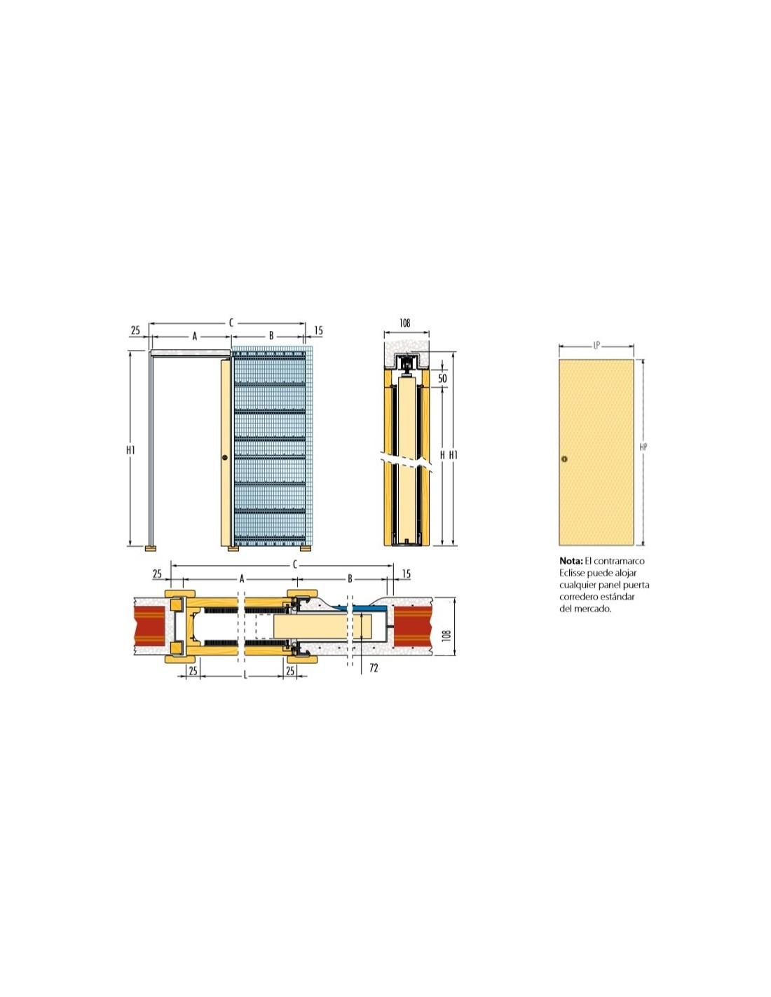 Puerta corredera interior ideas de disenos - Puerta corredera interior ...