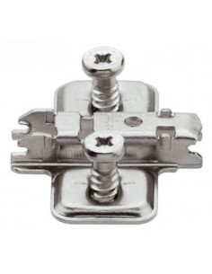 BASE CLIP TOP DISTANCIA 6MM. NIQUEL 175H9160 BLUM