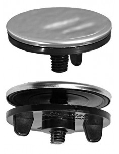 Tapon orificio grifo para fregaderos en acero.