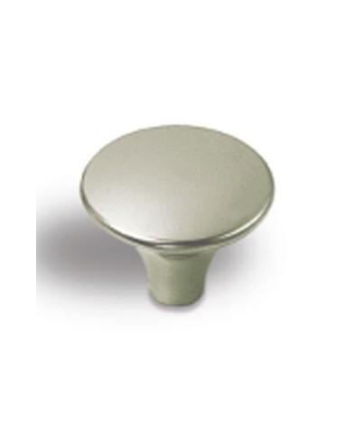Pomo Níquel Cepillado de 30 mm