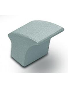 Pomo Níquel Cepillado Cubo 8800-038