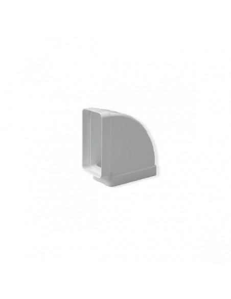 Codo Rectangular Horizontal 90º 180x90 mm