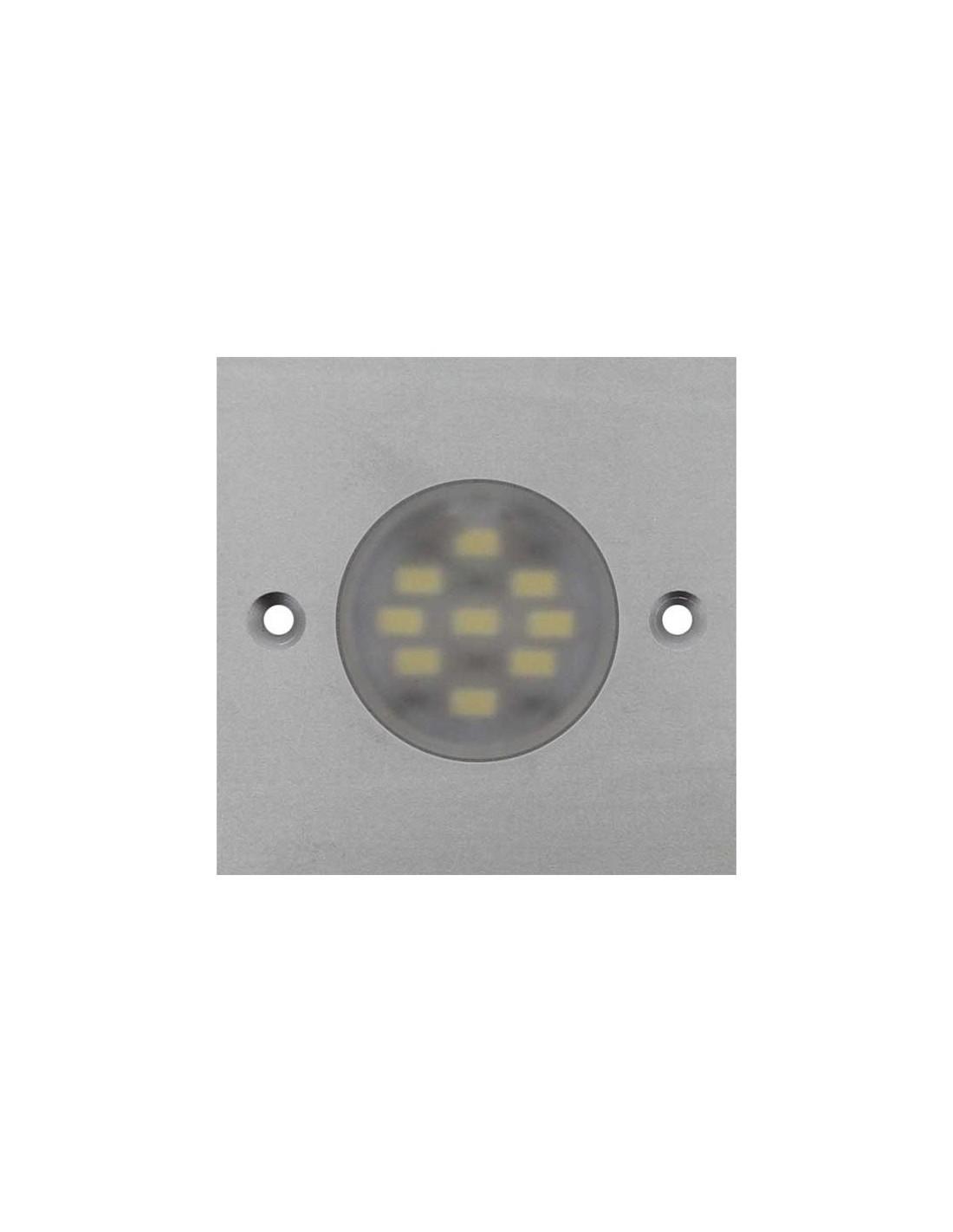 Foco led para cocina cuadrado con luz redonda - Focos led cocina ...