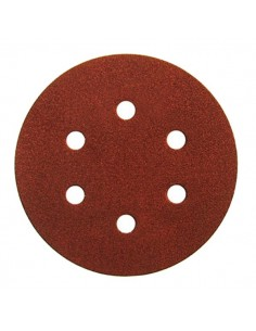 Disco velcro de 150 6 agujeros grano 180