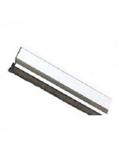 Burlete 2 de 720 Aluminio Plata