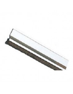 Burlete 2 de 1000 Aluminio Plata