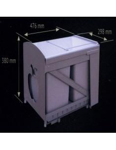 Contenedor Ecológico 2Cubos Cb 2X20 Litros