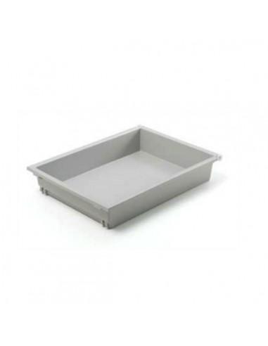 Cajón para módulo 40 cm. pvc gris con freno