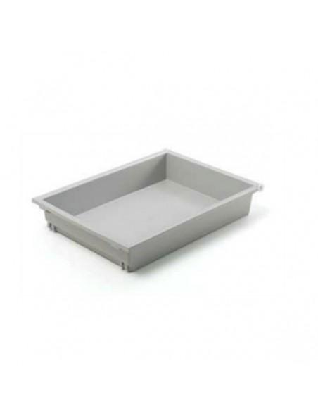 Cajón para módulo 45 cm. pvc gris con freno