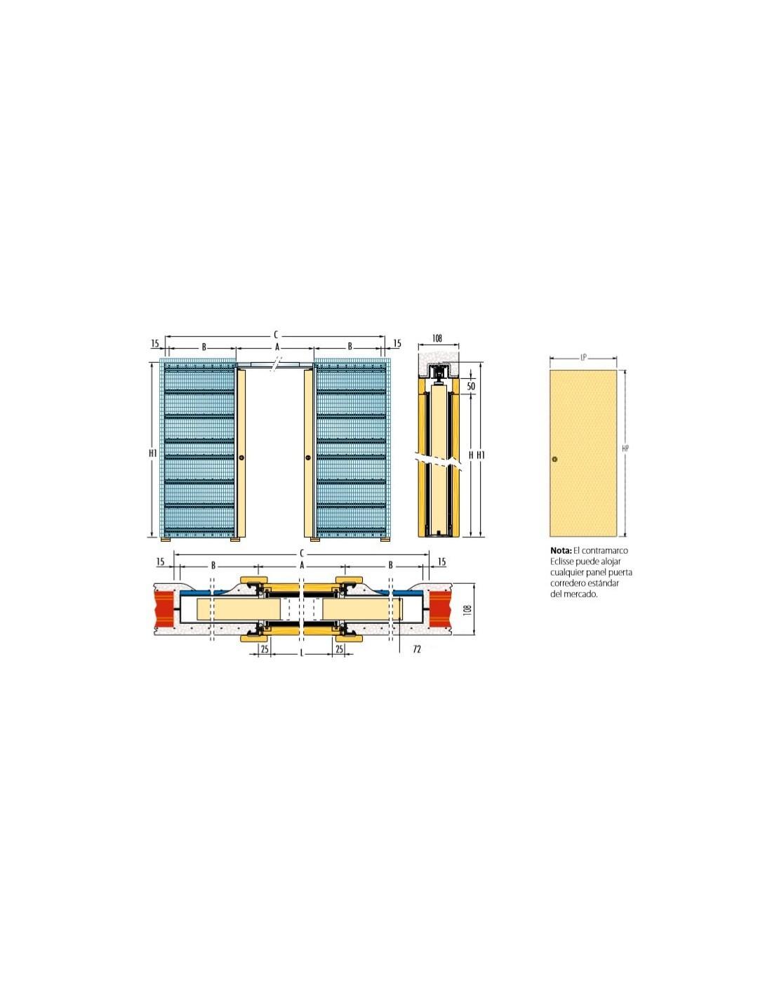 Medidas estandar puertas interiores finest medidas - Medidas de puertas de interior ...