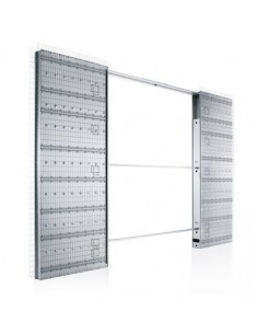 Contramarco Para Puerta Corredera Interior Junior Extensión Enlucido 900+900X2020 90 mm. Eclisse