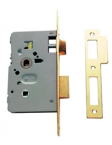 Cerradura de acero 2014 de 50 latonada tesa cerrajer a para carpint - Cerradura de puerta de madera ...