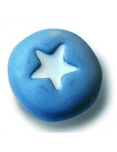 Pomos Azul Estrella Blanca 5912-005 de 36 mm.