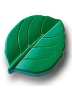 Pomos Hoja Verde 5953-004 de 36 mm