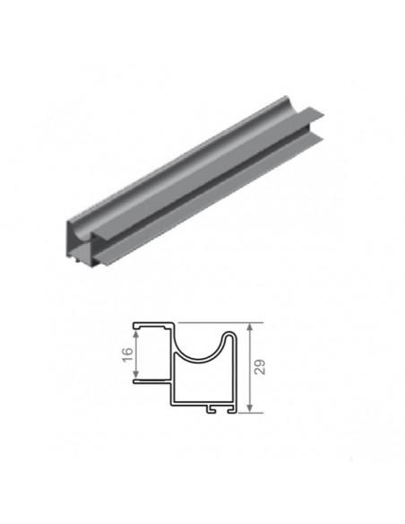 Kit Puerta FO-16 Aluminio Blanco
