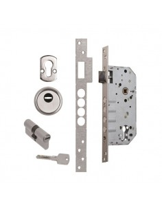 Cerradura Seguridad K408550 CC Niquel Satinado