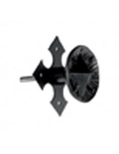 Pomo Puerta 119 Negro